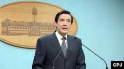 台灣總統馬英九 (資料照片)