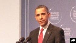 오바마 대통령, '제재로 북한 6자회담 복귀 압박'