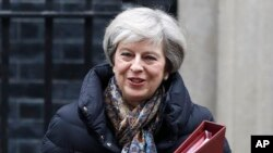 Theresa May, primeira-ministra ingles