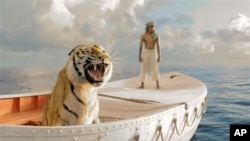 """Life of Pi"" received 11 Academy Award nominations"