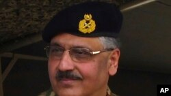 FILE - Pakistan's Joint Chiefs of Staff Committee Chairman General Zubair Mahmood Hayat.