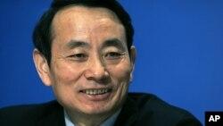 前中国国务院国资委主任和前中石油董事长蒋洁敏