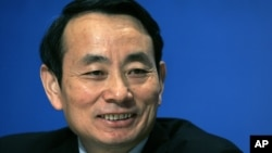 FILE - Jiang Jiemin, then-president of PetroChina Ltd.