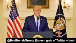 Видеообращение Дональда Трампа, 7 января 2021 года