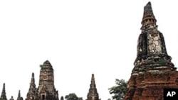 10月4号泰国中部被洪水淹没