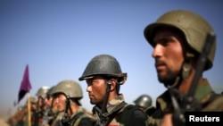 Бійці афганської національної армії