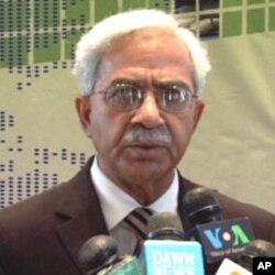 وزارت انسداد منشیات کے سیکرٹری افتخار احمد
