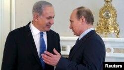 Биньямин Нетаньяху и Владимир Путин. Сочи, Россия. 14 мая 2013 г.