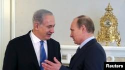 Izraelski premijer benjamin Netanjahu i ruski predsednik Vladimir Putin, prilikom susreta u Sočiju