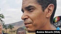 Jean Martin Bauer, représentant du PAM au Congo à Mindouli. (VOA/Arsène Séverin)