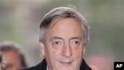 Former Argentine President Nestor Kirchner (file photo)