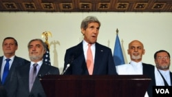 حکومت وحدت ملی در افغانستان، به وساطت ایالات متحدۀ امریکا تأسیس یافت