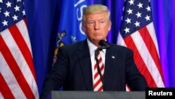 Donald Trump na jam'iyyar Republican dake takarar shugaban kasar Amurka