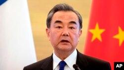 Las declaraciones las hizo el ministro de Relaciones Exteriores chino, Wang Yi, a periodistas en Pekín.