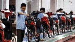 چين: مازاد بازرگانی کشور کاهش يافته است