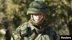Російський солдат в Україні