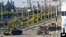 政府軍和反政府武裝在大馬士革郊區爆發衝突。
