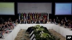 南美共同市場召開會議。