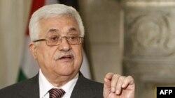 Tổng thống Palestine Mahmnoud Abbas nói người Palestine chưa từ bỏ các cuộc thương thuyết tìm hòa bình