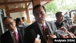 Menteri Koordinator bidang Politik Hukum dan Keamanan Luhut Binsar Pandjaitan. (Foto: Dok))