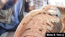 Egypt mummies discovered in Tombs