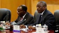 Le président congolais Joseph Kabila à Pékin, le 4 septembre 2015. (Lintao Zhang/Pool Photo via AP)