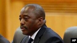 Joseph Kabila, président de la République démocratique du Congo (RDC)