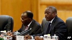 Joseph Kabila, président de la RDC, à Pékin le 4 septembre 2015. (Lintao Zhang/Pool Photo via AP)