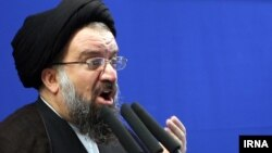 Ulama senior Iran, Ayatollah Ahmad Khatami (foto: dok).