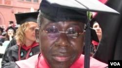 The late veteran journalist William Bango