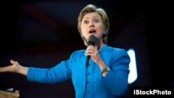 Hillary Clinton is seen as a strong candidate for the Presidency. She's always given as good as she's gotten.