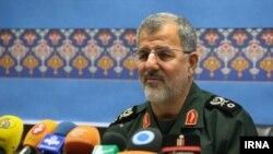 모하마드 파크푸르 이란 군 사령관 (자료사진)