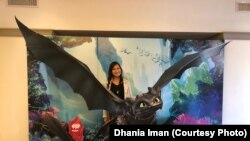 Yorie Kumalasari, effects artist untuk DreamWorks Animation di California (dok: VOA)