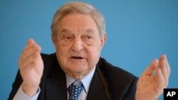 La presencia de Soros podría actuar como un atractivo para otros donantes indican los medios estadounidenses.