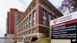 Pusat perawatan ebola di Nebraska Medical Center di kota Omaha (foto: dok).