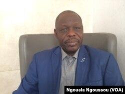Brah Mahamat, ministre tchadien de l'Environnement et de la pêche, à Brazzaville. (VOA/Ngouela Ngoussou)