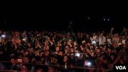 برگزار کنندگان این جشنواره گفتند که بین ۱۰ تا ۱۵ هزار نفر اشتراک کرده بودند.