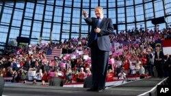"""Se anticipa que el discurso de Trump en Carolina del Norte servirá también para anunciar formalmente la nominación del General retirado, James """"Mad Dog"""" Mattis, como secretario de Defensa."""