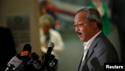 Thị trưởng thành phố San Francisco Ed Lee.
