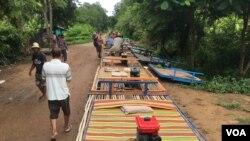 Một làng ở tỉnh Battambang.