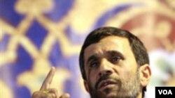 Prezidan iranyen an Mahmoud Ahmadinejad deklare peyi li pap fè okenn bak sou wout nikleyè li