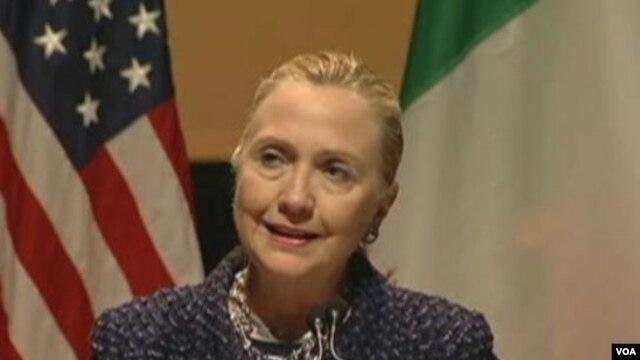 Američka državna sekretarka Hilari Klinton