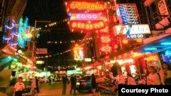 Các sinh hoạt đêm ở thành phố Pattaya, Thái Lan.