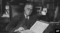 时任总统罗斯福