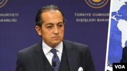 Hüseyin Müftüoglu, porte-parole du ministère turc des Affaires étrangères.