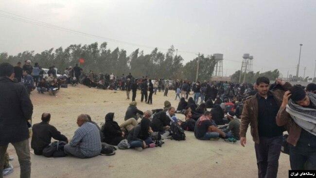 تلاش حکومت ایران برای اعزام «زائران اربعین» با افزایش اعتراضات در عراق، همزمان شده است.