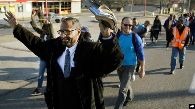 En la capital estadounidense, los activistas tienen planeado finalizar la marcha con discursos y actos pacíficos el próximo 16 de septiembre.