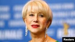 Nữ diễn viên Helen Mirren trong buổi họp báo giới thiệu phim 'Woman In Gold' tại Liên hoan phim Quốc tế Berlinale lần thứ 65 ở Berlin, Đức, ngày 9 tháng 2 năm 2016.