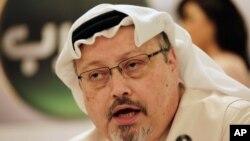 រូបឯកសារ៖លោក Jamal Khashoggi ជាអ្នកកាសែតដែលត្រូវបានសម្លាប់