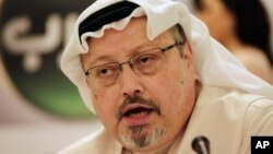 Nhà báo Jamal l Khashoggi.